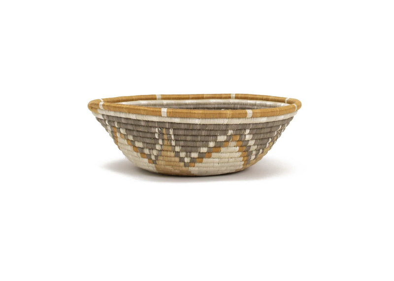 Raffia Bowl Soft Gold Intore Extra Large