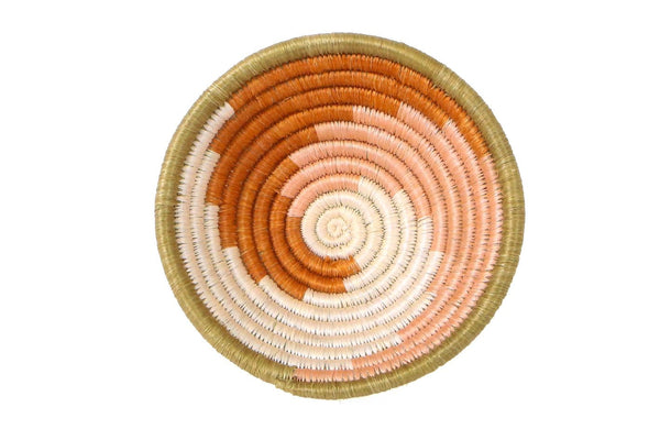 Raffia Bowl Canyon Clay Unity Small