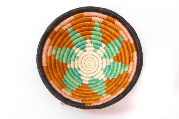 Raffia Bowl Canyon Clay Burst Small