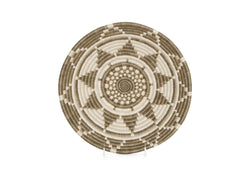 "Raffia Baskets Large ""Light Taupe Ikaze"""