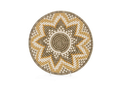 "Raffia Basket Large ""Gold Hope"""