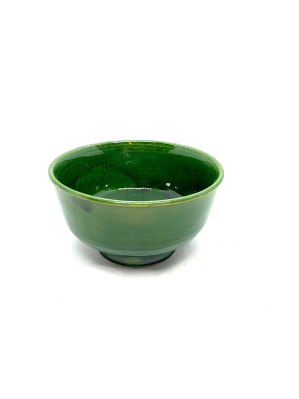 "Green Ceramic ""Harira"" Bowl"