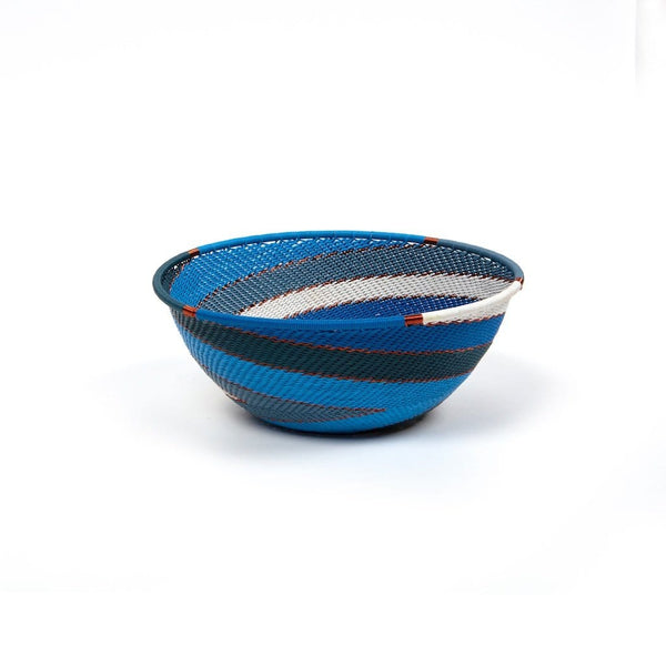 Handwoven Bowl  Shallow Medium