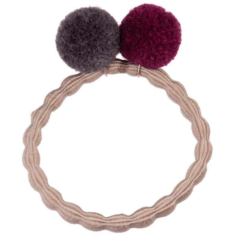 Hair Ties with PomPom's