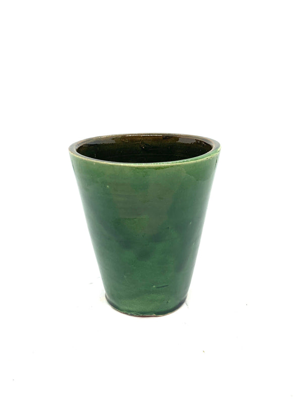 Green Ceramic Cup Medium