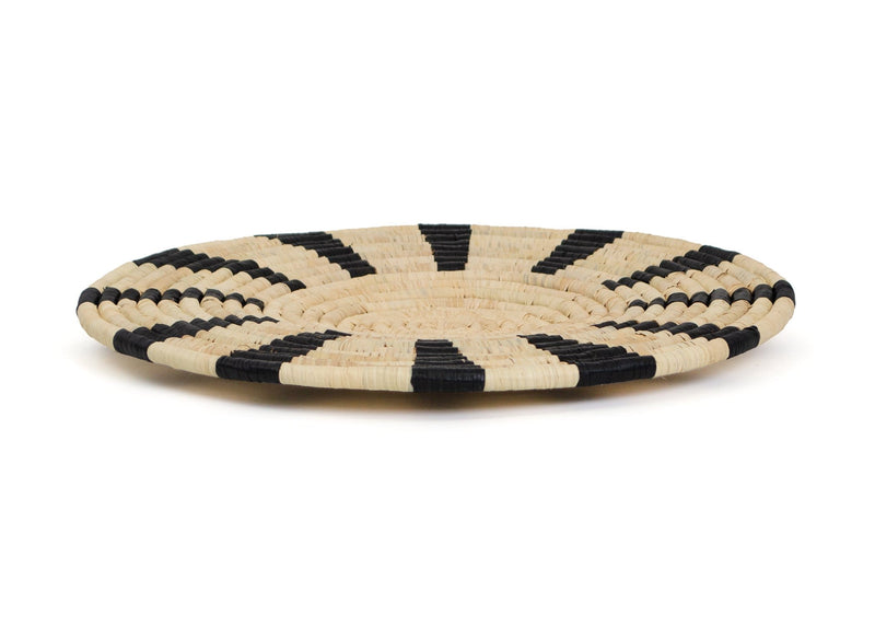 Raffia Tiled Natural Plate Medium