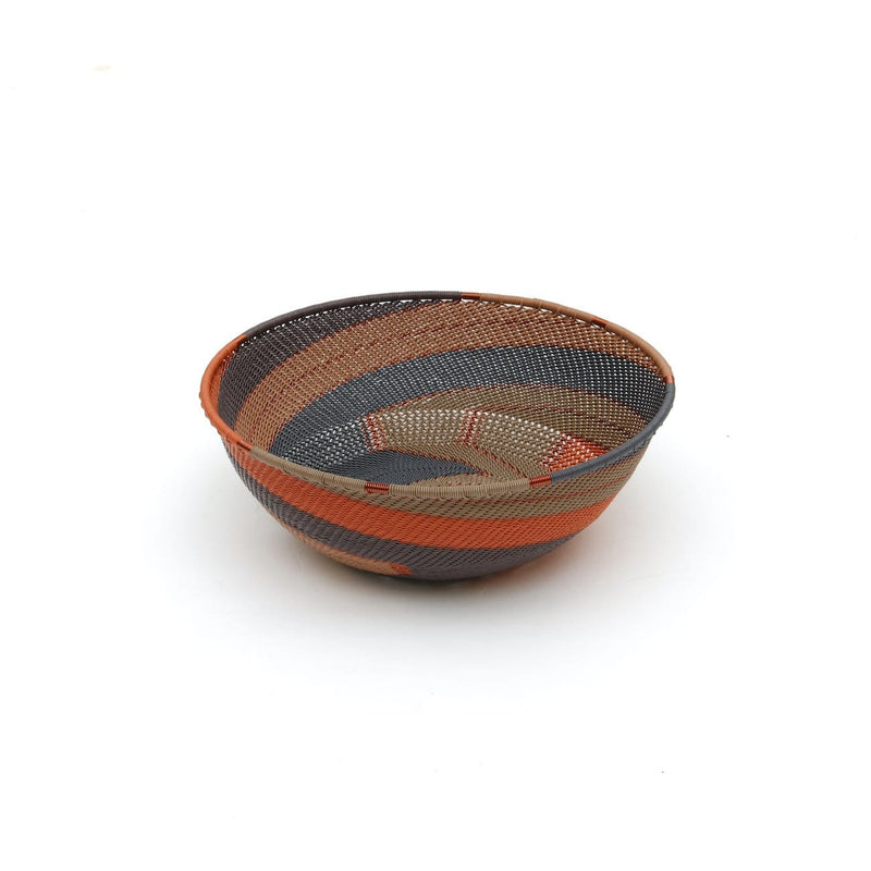 Handwoven Bowl  Shallow Large