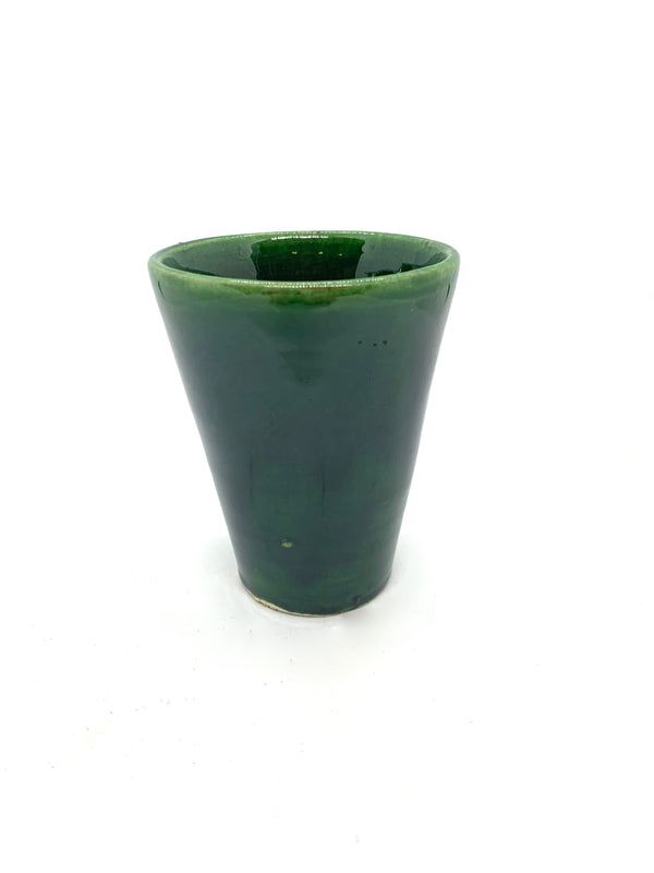 Green Ceramic Cup Small
