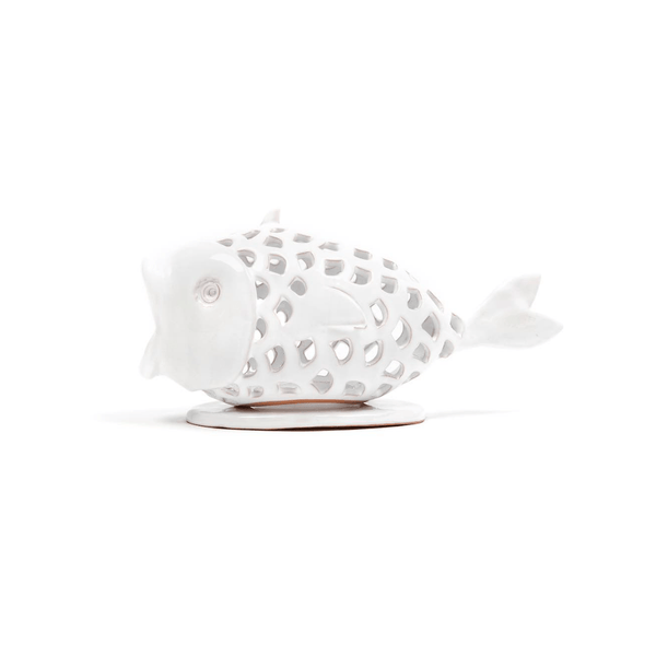 Ceramic Fish Tea Light Holder