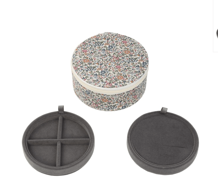 Liberty's Jewellery Travel Box Round