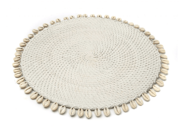 Placemats with Cowrie Shells