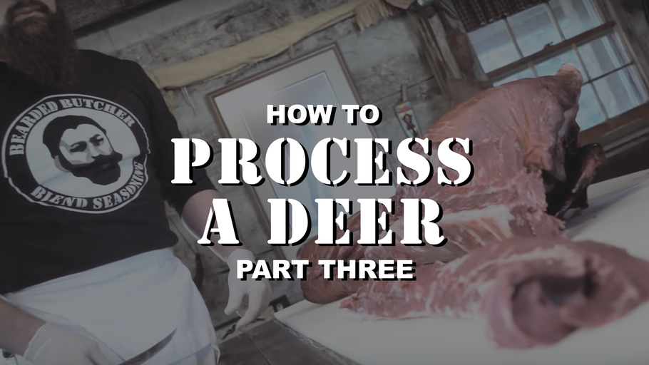 How to Process a Deer at Home: Part 3