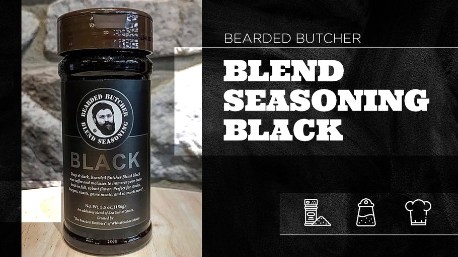 Bearded Butcher Blend Seasoning: Black