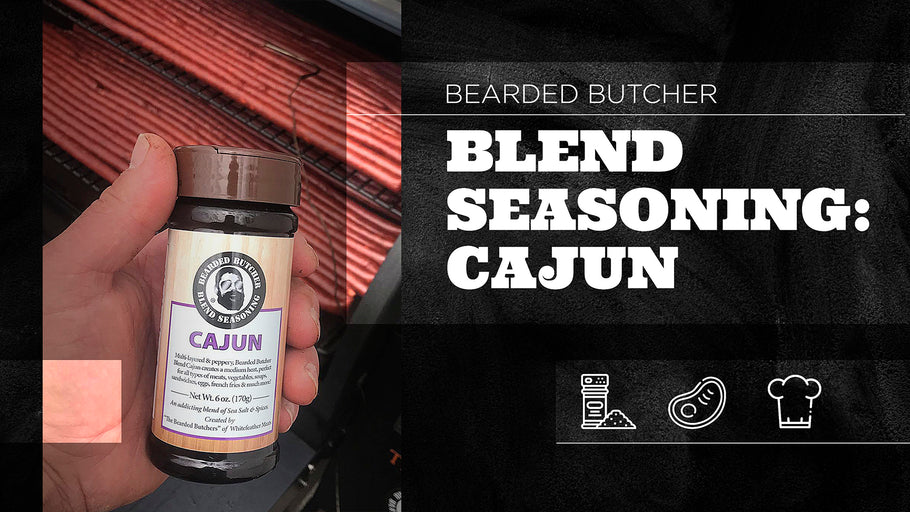 Bearded Butchers Blend: Cajun Seasoning