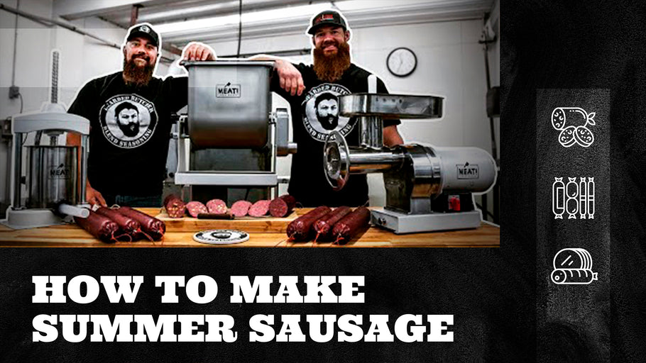 How to Make Summer Sausage at Home