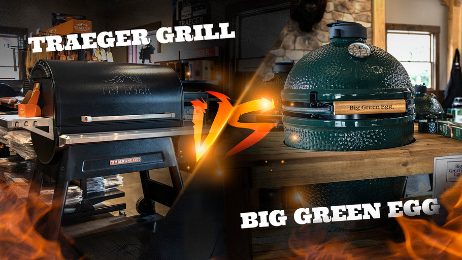 The Traeger Grill VS The Big Green Egg