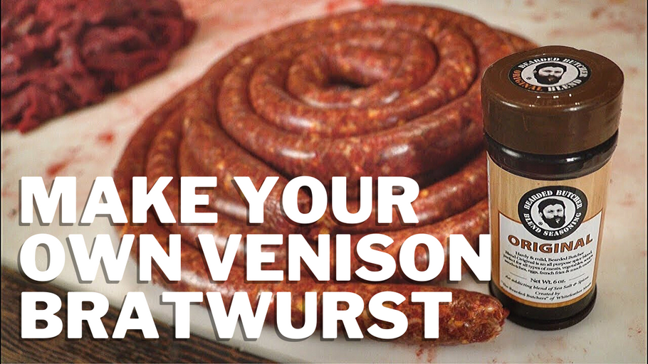 How to Make Your Own Sausage and Bratwurst with Fresh Ground Venison Meat