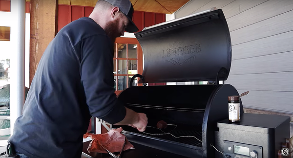 using traeger grill