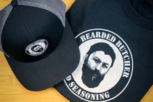 Load image into Gallery viewer, Bearded Butcher Snap-Back Hat - Bearded Butcher Blend Seasoning