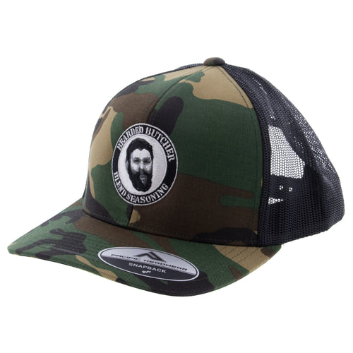 Bearded Butcher or Carnivore Snap-Back Hat