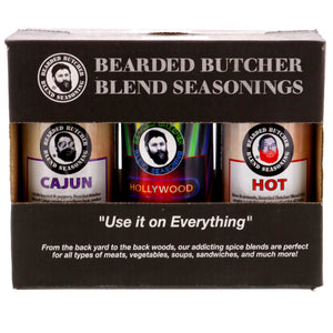 Bearded Butcher Blend 6 Pack of Seasoning