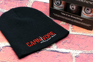 Carnivore Beanie - Bearded Butcher Blend Seasoning