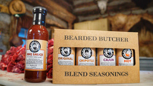 Bearded Butcher Blend Seasoning Variety Pack with Sauce