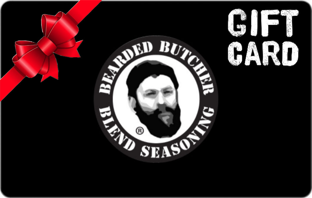 Bearded Butcher Blend Seasoning Gift Card
