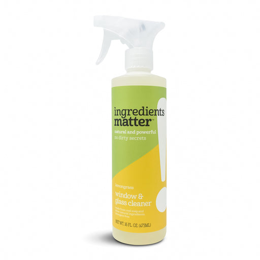 Window & Glass Cleaner, Lemongrass