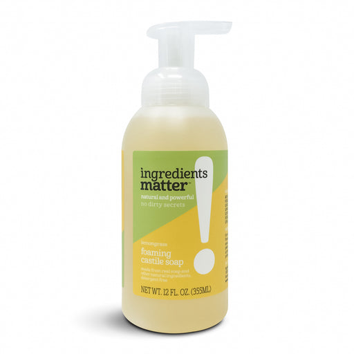 Foaming Castile Hand Soap, Lemongrass