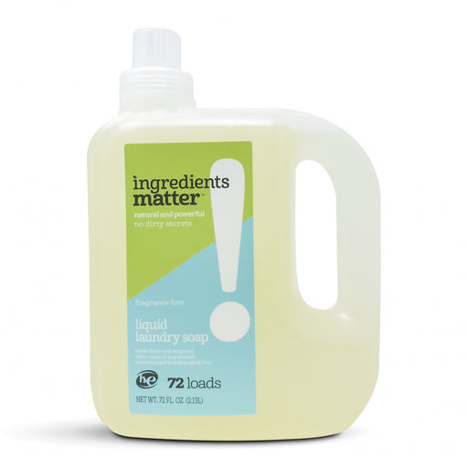 Liquid Laundry Soap, Fragrance-free