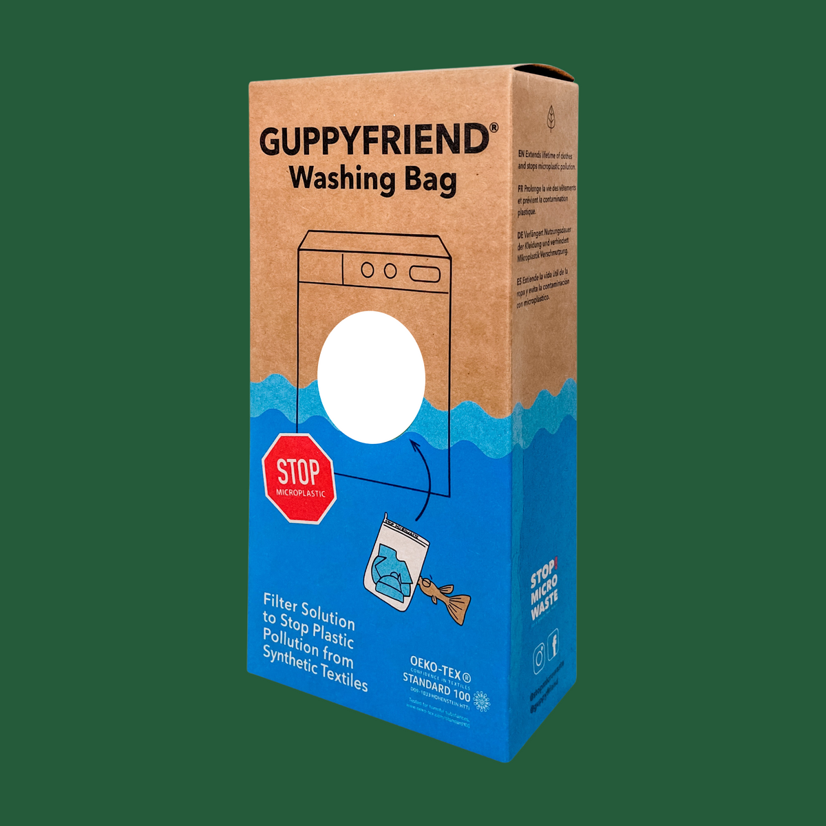 Guppyfriend Microplastic-Catching Washing Bag