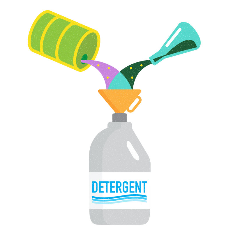 detergent illustration