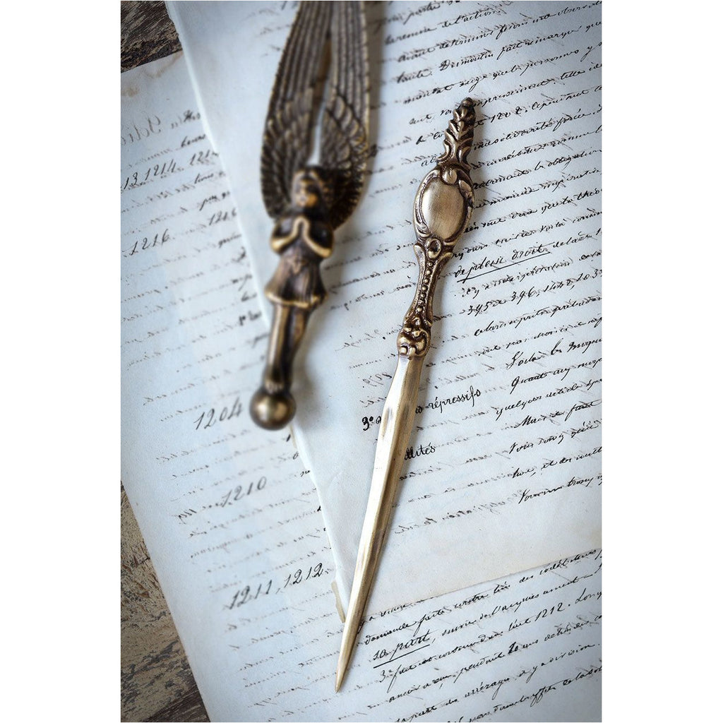Antiqued Brass Classic Letter Opener