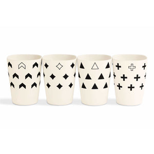 Set of 4 Bamboo Fiber Cups