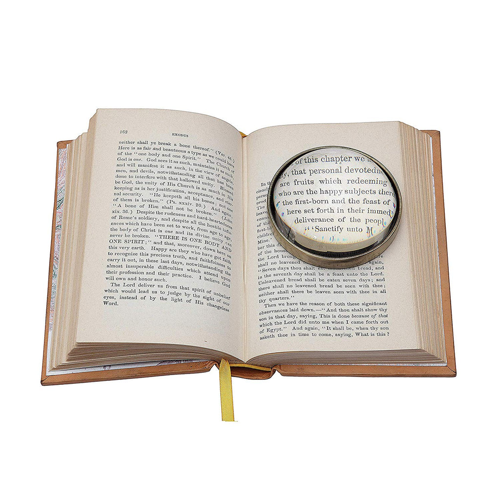 Round Paperweight Magnifying Glass
