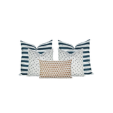 Painted Stripe Marine Pillow