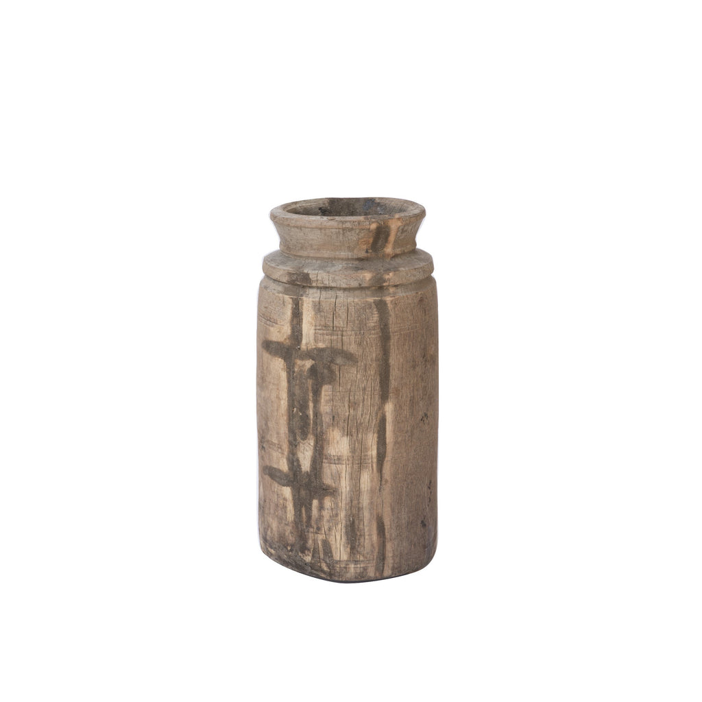Wood Stump Vessel