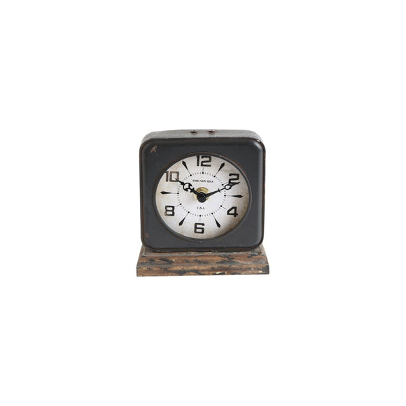 Pewter Clock