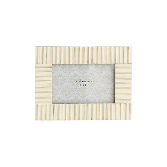 White Textured Frame