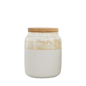 Tall Ceramic Glaze Canister