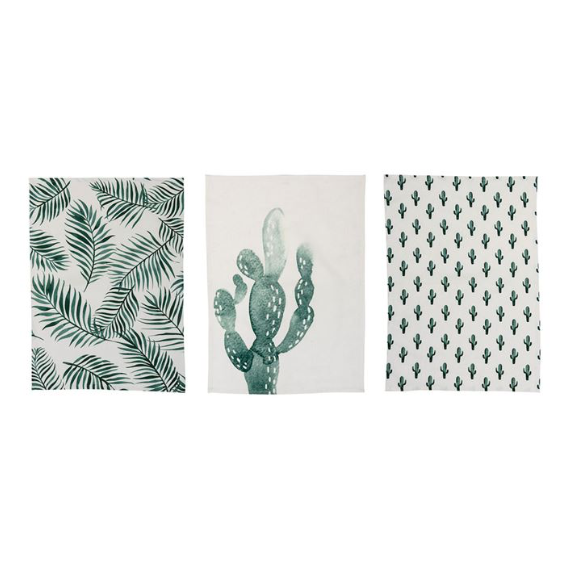 Cactus Kitchen Towel Set
