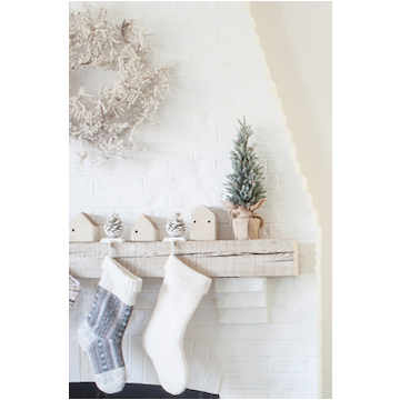 Cast Iron Pinecone Stocking Holder