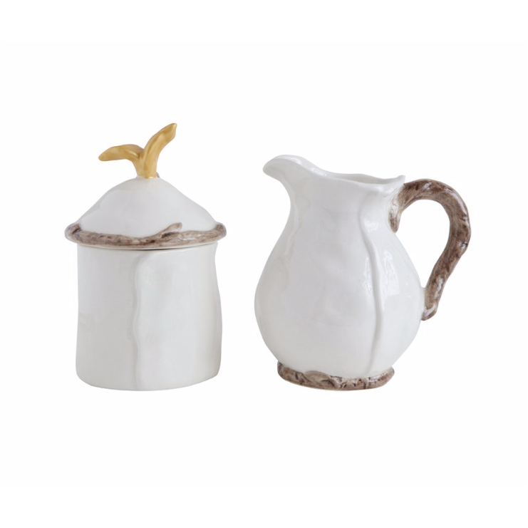 Set of Creamer & Sugar