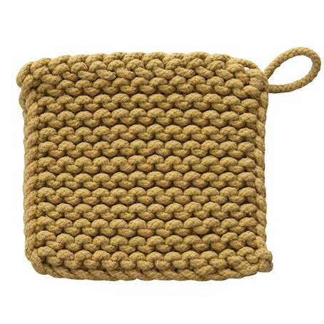 Chunky Crocheted Pot Holder