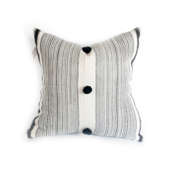 Striped Hemp Pillow