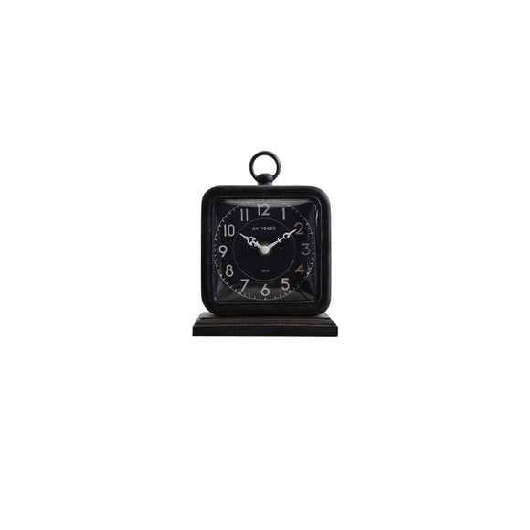Black Table Clock