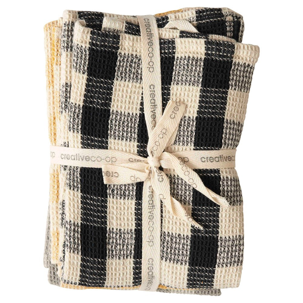 Gingham Towel Set