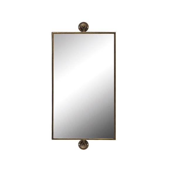 Metal Swivel Wall Mirror