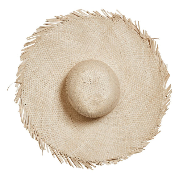 Hand-Woven Palm Hat